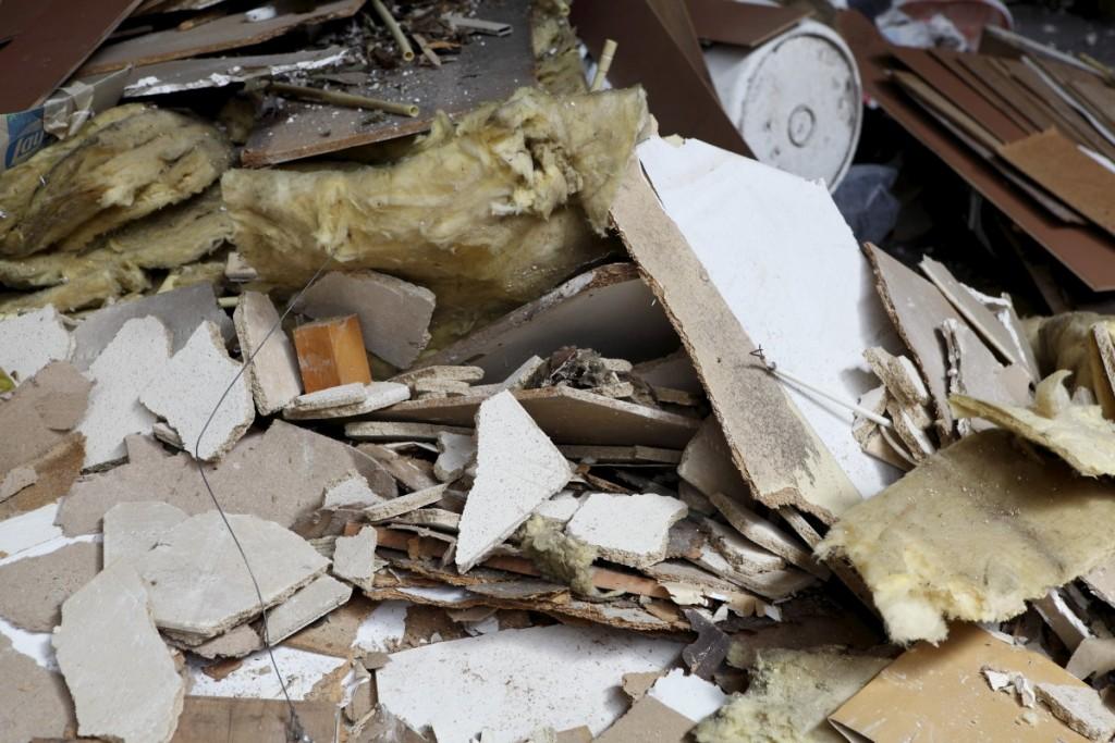 Отпадъци за изхвърляне след ремонт