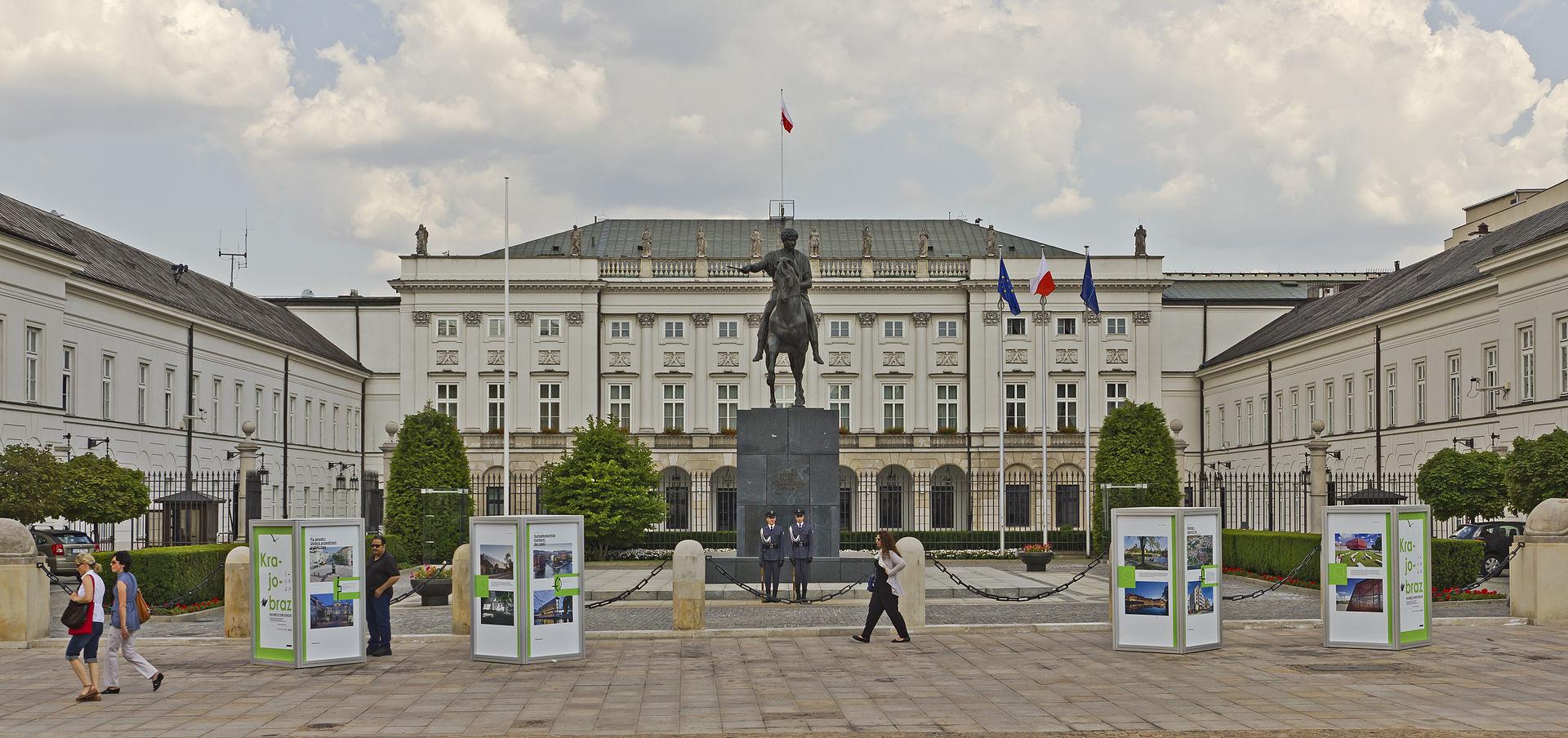 Варшава президент